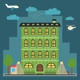 Καλό ζωηρόχρωμο σπίτι Στοκ φωτογραφίες με δικαίωμα ελεύθερης χρήσης