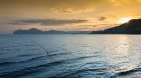 Καλό ηλιοβασίλεμα Στοκ φωτογραφία με δικαίωμα ελεύθερης χρήσης