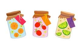 Καλό διάνυσμα σχεδίου κινούμενων σχεδίων φρούτων απεικόνιση αποθεμάτων