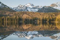 Καλό πανόραμα στα βουνά Στοκ εικόνα με δικαίωμα ελεύθερης χρήσης