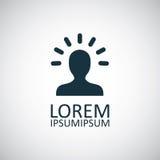 Καλό σύμβολο ιδέας Στοκ εικόνα με δικαίωμα ελεύθερης χρήσης
