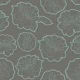 Καλό floral σχέδιο κρητιδογραφιών με τα τριαντάφυλλα Στοκ εικόνα με δικαίωμα ελεύθερης χρήσης