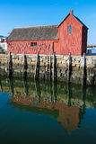 Καλύβα αστακών σε Rockport, μΑ Στοκ εικόνα με δικαίωμα ελεύθερης χρήσης