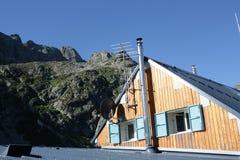 Καλύβα βουνών, Γαλλία Στοκ Φωτογραφίες