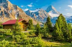 Καλύβα βουνών στοκ εικόνες