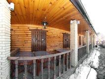 καλύβα ξύλινη Στοκ φωτογραφίες με δικαίωμα ελεύθερης χρήσης