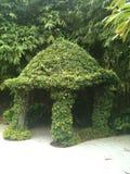Καλύβα Σιγκαπούρη κήπων Στοκ Εικόνα