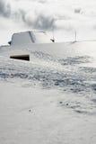 Καλύβα στεγών - Etna που καλύπτεται από το χιόνι Στοκ φωτογραφίες με δικαίωμα ελεύθερης χρήσης