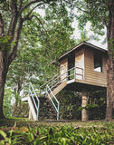 Καλύβα στο δάσος Στοκ Φωτογραφία