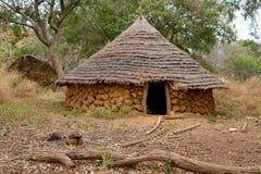Καλύβα της Σενεγάλης Ethiolo Στοκ Εικόνες