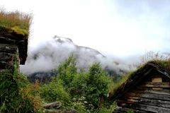 Καλύβα Geiranger Στοκ φωτογραφίες με δικαίωμα ελεύθερης χρήσης