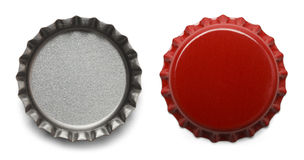 Καλύμματα μπουκαλιών Στοκ εικόνες με δικαίωμα ελεύθερης χρήσης