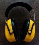 Καλύμματα προστασίας αυτιών Στοκ Φωτογραφία