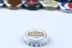 Καλύμματα της μπύρας και του ποτού Στοκ Εικόνες