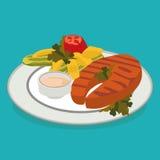 Καλύτερα επίπεδα τρόφιμα Στοκ φωτογραφίες με δικαίωμα ελεύθερης χρήσης