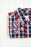 Καλύτερα επιστολές και πουκάμισο μπαμπάδων πάντα Στοκ φωτογραφίες με δικαίωμα ελεύθερης χρήσης