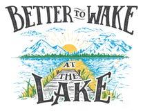 Καλύτερα στα ίχνη στην απεικόνιση λιμνών απεικόνιση αποθεμάτων