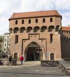 Καλύτερα συντηρημένος ο barbican στην Ευρώπη, Πολωνία Στοκ Εικόνα