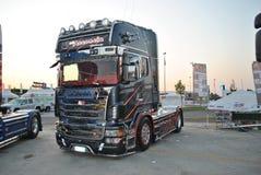 Καλύτερη έκδοση τοπ γραμμών Scania ρ Στοκ φωτογραφίες με δικαίωμα ελεύθερης χρήσης