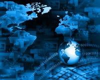καλύτερη επιχειρησιακής έννοιας σειρά Διαδικτύου χεριών πυράκτωσης σφαιρών εννοιών σφαιρική Στοκ εικόνες με δικαίωμα ελεύθερης χρήσης