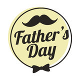 Καλύτερος μπαμπάς, ευτυχής ημέρα πατέρων Στοκ εικόνες με δικαίωμα ελεύθερης χρήσης