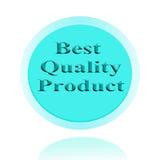 Καλύτερο εικονίδιο ποιοτικών προϊόντων ή σχέδιο έννοιας εικόνας συμβόλων με το Bu Στοκ φωτογραφία με δικαίωμα ελεύθερης χρήσης