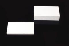 καλύτερο επαγγελματικών καρτών αρχικό διάνυσμα προτύπων τυπωμένων υλών έτοιμο Στοκ Εικόνες