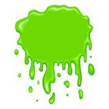 Καλύτερο πράσινο slime εικονίδιο Στοκ φωτογραφία με δικαίωμα ελεύθερης χρήσης