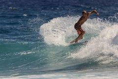 Καλύτερο surfer σε όλο τον κόσμο Στοκ Φωτογραφίες