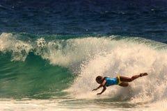 Καλύτερο surfer σε όλο τον κόσμο Στοκ Φωτογραφία