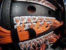 Καλώδια δικτύων Στοκ εικόνα με δικαίωμα ελεύθερης χρήσης