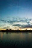 Καλώδια στον ουρανό Στοκ εικόνα με δικαίωμα ελεύθερης χρήσης