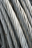 Καλώδιο αλουμινίου Στοκ φωτογραφίες με δικαίωμα ελεύθερης χρήσης