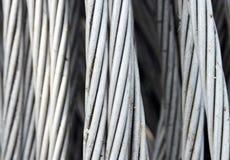 Καλώδιο αλουμινίου Στοκ εικόνα με δικαίωμα ελεύθερης χρήσης