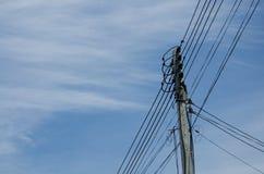 Καλώδιο ηλεκτρικής ενέργειας Στοκ Εικόνες