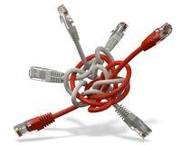 Καλώδιο δικτύων Στοκ φωτογραφία με δικαίωμα ελεύθερης χρήσης