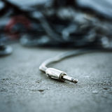 Καλώδιο του Jack Στοκ φωτογραφία με δικαίωμα ελεύθερης χρήσης