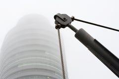 Καλώδιο τροχαλιών και χάλυβα Στοκ φωτογραφία με δικαίωμα ελεύθερης χρήσης