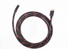 Καλώδιο HDMI Στοκ εικόνα με δικαίωμα ελεύθερης χρήσης