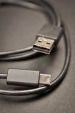 Καλώδιο USB Στοκ εικόνα με δικαίωμα ελεύθερης χρήσης