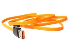 Καλώδιο USB Στοκ φωτογραφία με δικαίωμα ελεύθερης χρήσης