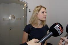 Κα JOHANNE SCHIMDT NIELSEN_ENHEDSLISTEN Στοκ Φωτογραφία