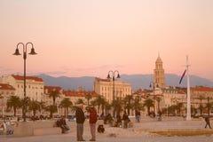 Κα MatejuÅ ¡, διάσπαση, Κροατία Στοκ εικόνες με δικαίωμα ελεύθερης χρήσης