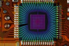 Κβαντικό τσιπ Στοκ Εικόνες