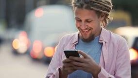 Κείμενα ατόμων στην οδό φιλμ μικρού μήκους