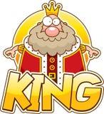 Κείμενο βασιλιάδων κινούμενων σχεδίων Στοκ Φωτογραφία