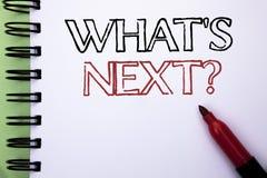 Κείμενο γραφής ποια επόμενη ερώτηση του s Έννοια που σημαίνει τη λύση επιλογής φαντασίας το επόμενο ερωτηματολόγιο που γράφεται ρ Στοκ Φωτογραφίες