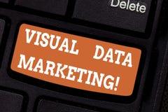 Κείμενο γραψίματος λέξης οπτικό μάρκετινγκ στοιχείων Επιχειρησιακή έννοια για τις εικόνες χρήσης για να μεταβιβάσουν τις πληροφορ στοκ εικόνες με δικαίωμα ελεύθερης χρήσης