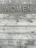 Κείμενο γυναικών στοκ φωτογραφίες