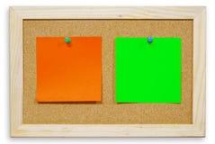 κείμενο εγγράφου φελλού χρώματος χαρτονιών BA Στοκ Φωτογραφίες